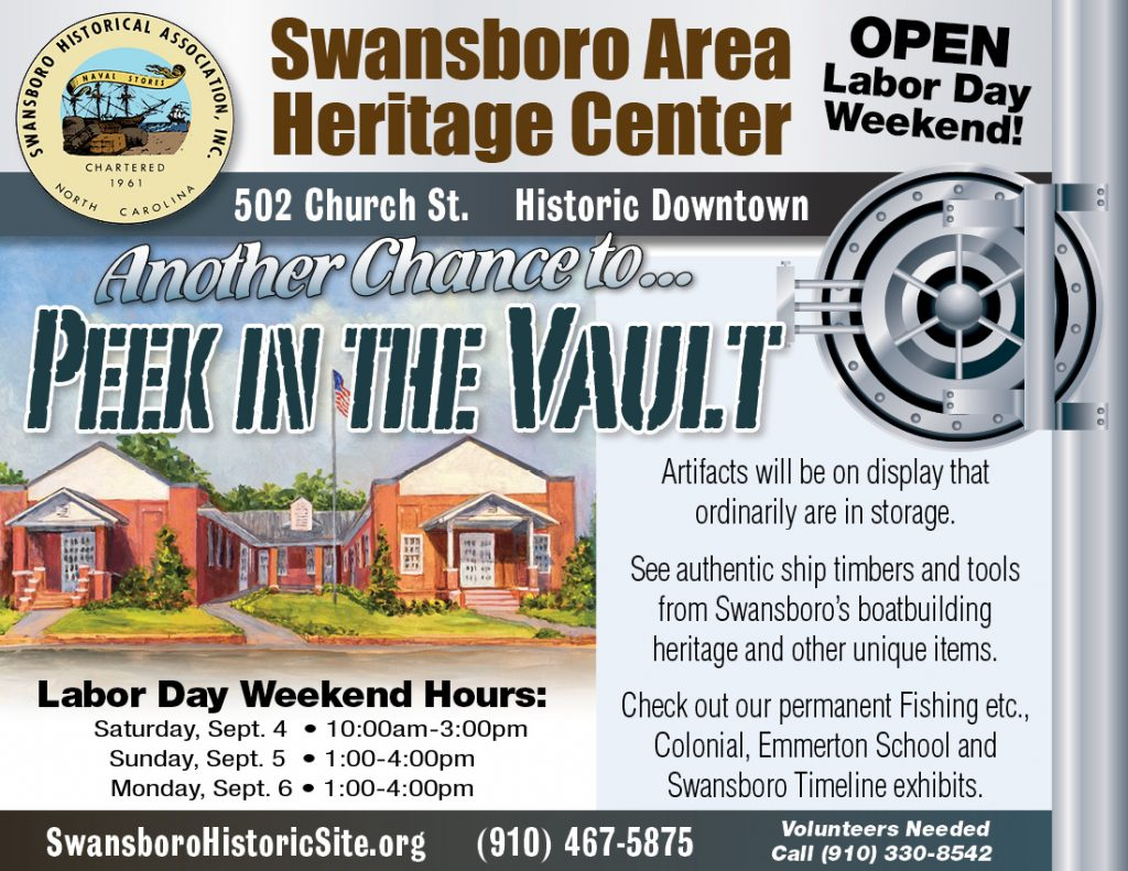Heritage Center Labor Day Weekend Hours