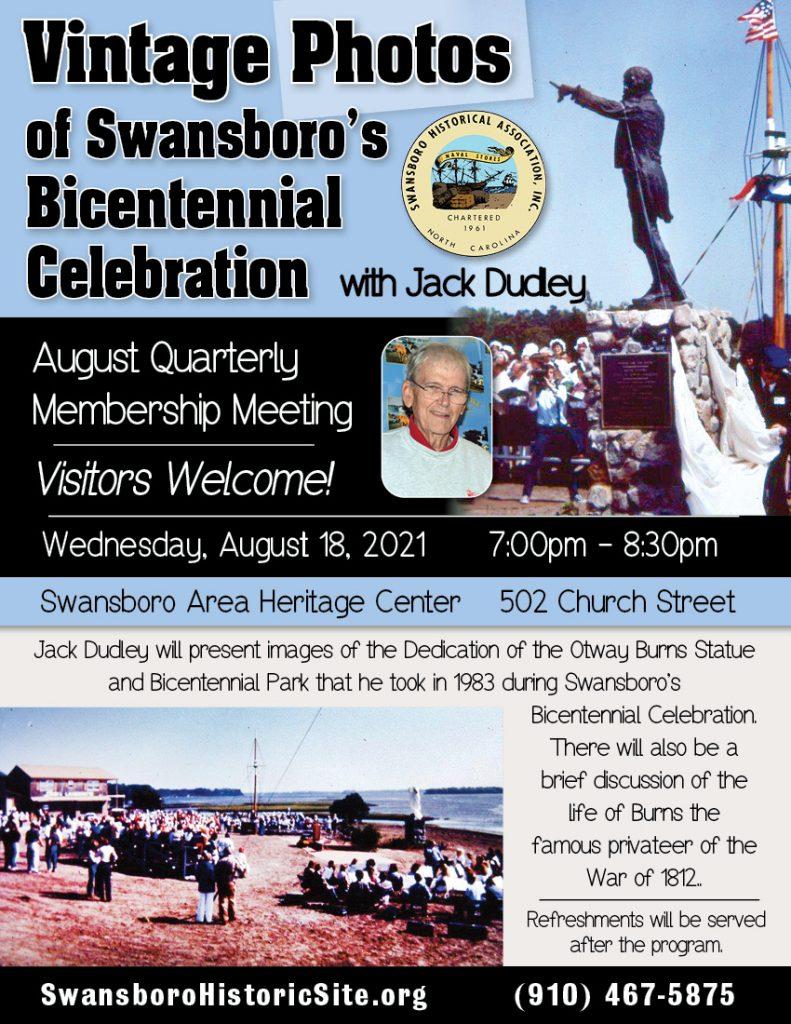 Vintage Photos of Swansboro's Bicentennial  Celebration
